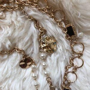 Zara Chain and Pearl Belt